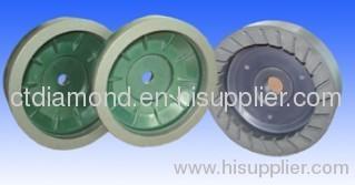 Resin bond wheel for bevel