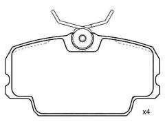 automotive parts MERCEDES BENZ 190 0014201020