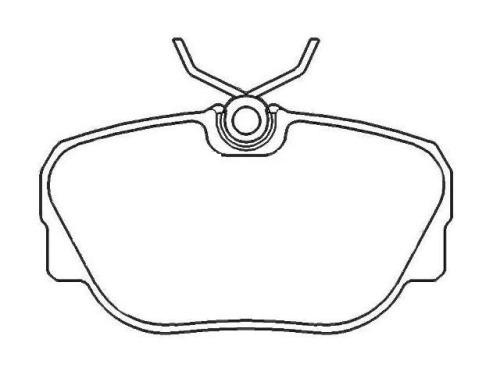 car auto parts BMW 3 Convertible (E30) 34111154442