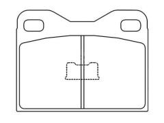AUDI 100 Front Brake Pad Repair