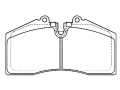 PORSCHE 911 Convertible Front Brake Pad Set