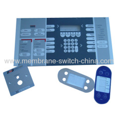 screen printing adhesive backed membrane switch backplate