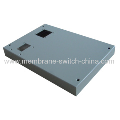 Square Metal Membrane Switch Backplate
