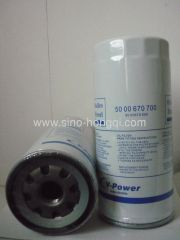 Auto oil filter 5000670699 /5000670700 for RENAULT