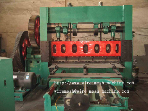 Expanded metal machine Steel sheet expanded machine