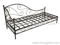Wrought iron garden sofa