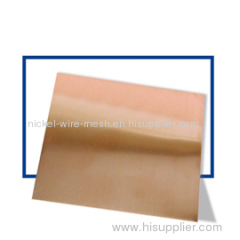 15 Alloy Nickel Copper Alloy Sheet Plate Strip