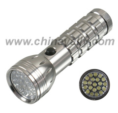 Aluminum LED flash lights