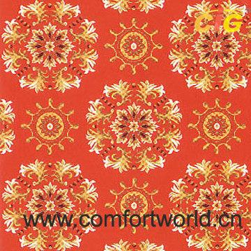 Printed Brushed Carpets Fabric