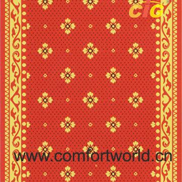 Colorful Brushed Carpet Fabricf