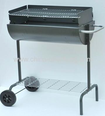 barrel charcoal grill