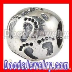 european Footprints Charm Bead Wholesale