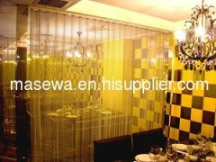 decorative metal wire mesh as divider