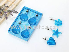 tablecloth clip heart shape
