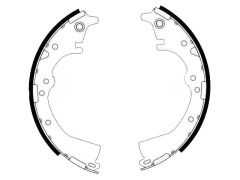 TOYOTA HILUX drum brake shoes 04495-28040