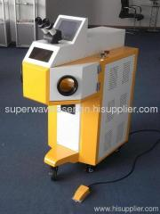 Laser spot welder