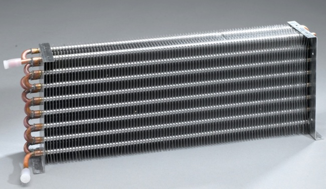 Copper Tube Aluminium Fin Welding Heat Exchangers Products