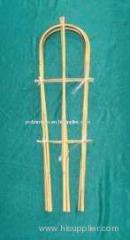 bamboo flower holder flower bamboo holder