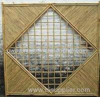 bamboo screen bamboo fence