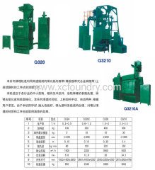 Apron Shot Blasting Machine