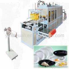 foam food box making machine