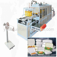 Machinery for making one time dishes