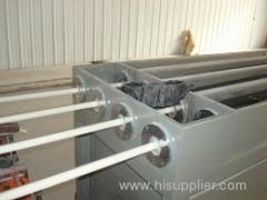 PVC one out four pipe production line