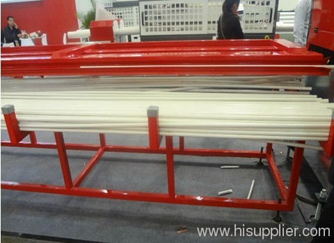 PVC one out four pipe extrusion line