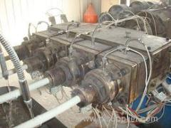 PVC one out four pipe making machine