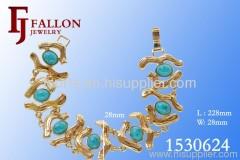 Super Wide 18K Gold Jewelry Bracelet 1530624