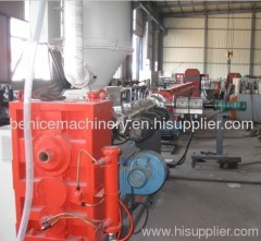 PE pipe processing machine line(25-140mm)