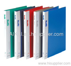 A4 PP File with One Pressure Clip & One Transparent Pocket
