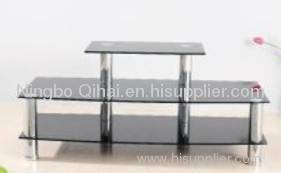 multifunctional glass tv table