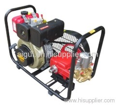 Diesel power sprayer