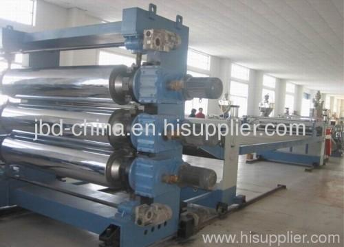PP/PE/HIPS/EVA sheet production line