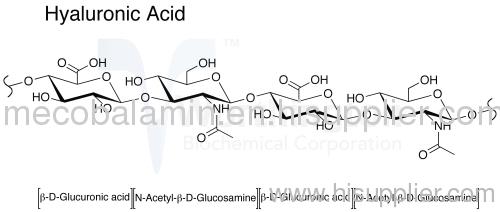 Hyaluronic acid (Cosmetic/ Medical/Injection/Food Grade HA) 91% / 95--105%