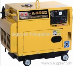3KW Silent diesel generator YL-D3500LES manufacturer from