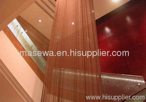 metal curtain decorative wire mesh divider