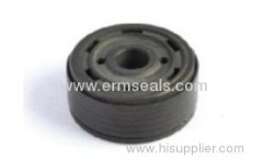 PTFE bonded piston for shock absorber