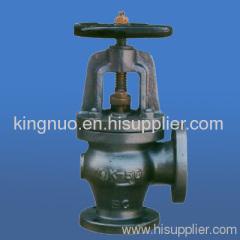 JISF7312 marine cast steel angle valves 5K