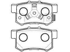 HONDA ACCORD rear brake pad sets