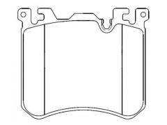 BMW X5 brake pads