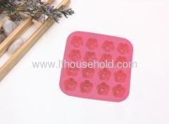 rose shape ice tray