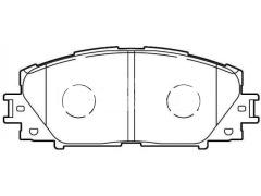 TOYOTA PRIUS front brake pads