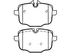 BMW 5 rear brake pad sets