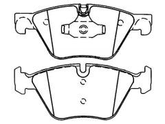 BMW 5 (F10) front brake pads
