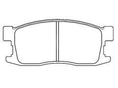 HONDA CIVIC brake pad sets