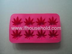 leaf shape ice tray
