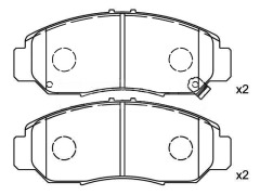 HONDA STREAM brake pads