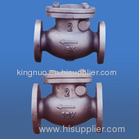 Marine JISF7372 cast iron 5K swing check valves